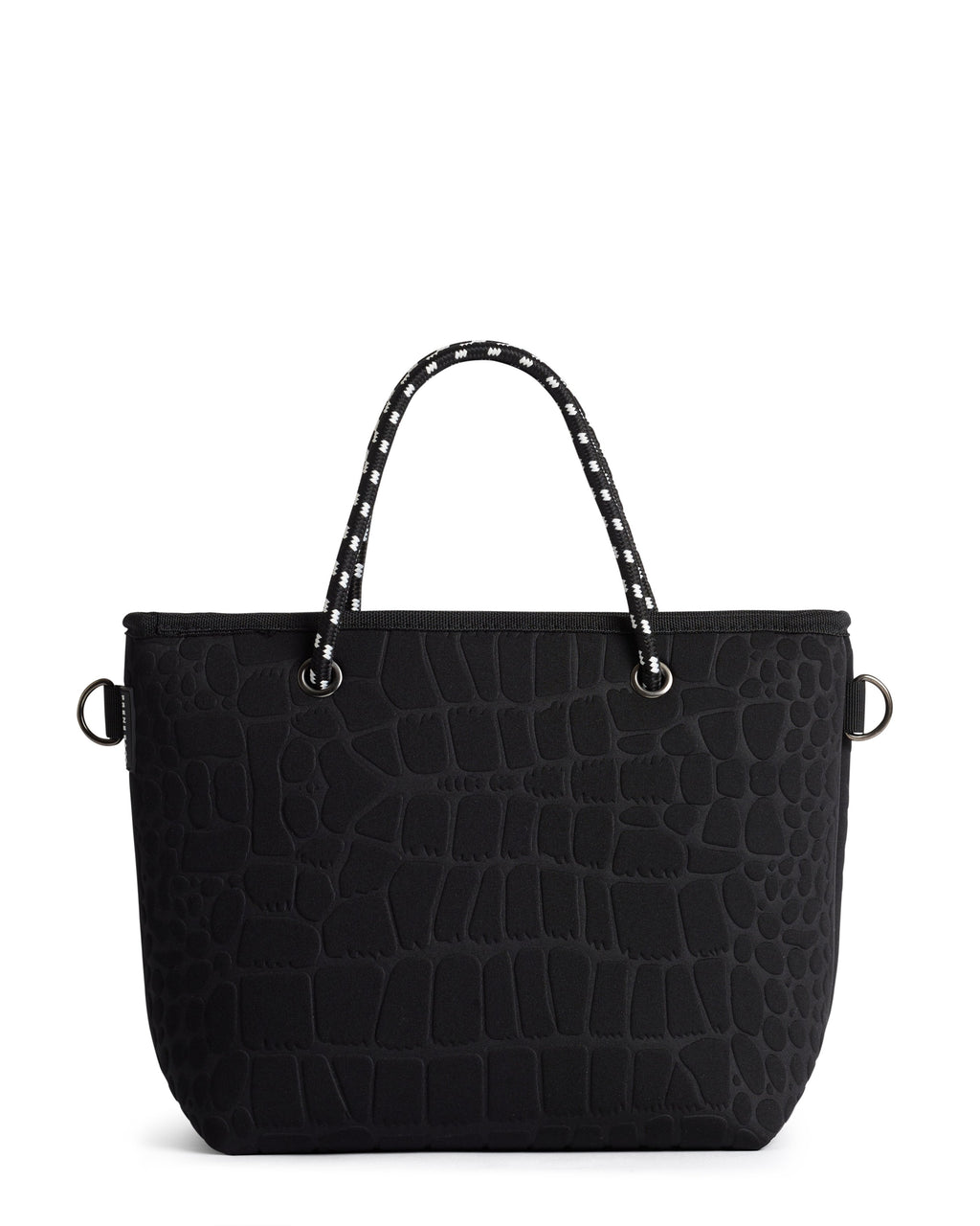 PRENE  //  Limited Edition The Pebbles Bag BLACK CROC