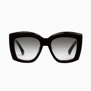 VALLEY  //  COLTRANE - GLOSS BLACK w.GOLD METAL TRIM/ BLACK GRADIENT LENS