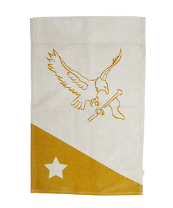 PONY RIDER  //  Seabird Recycled Canvas Wall Banner