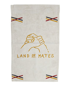 PONY RIDER  //  Land Of Mates Recycled Canvas Wall Banner