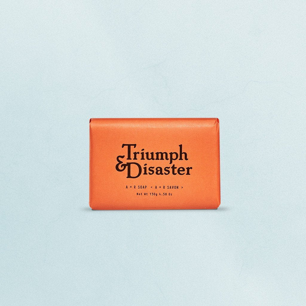 TRIUMPH & DISASTER  //  A + R Soap