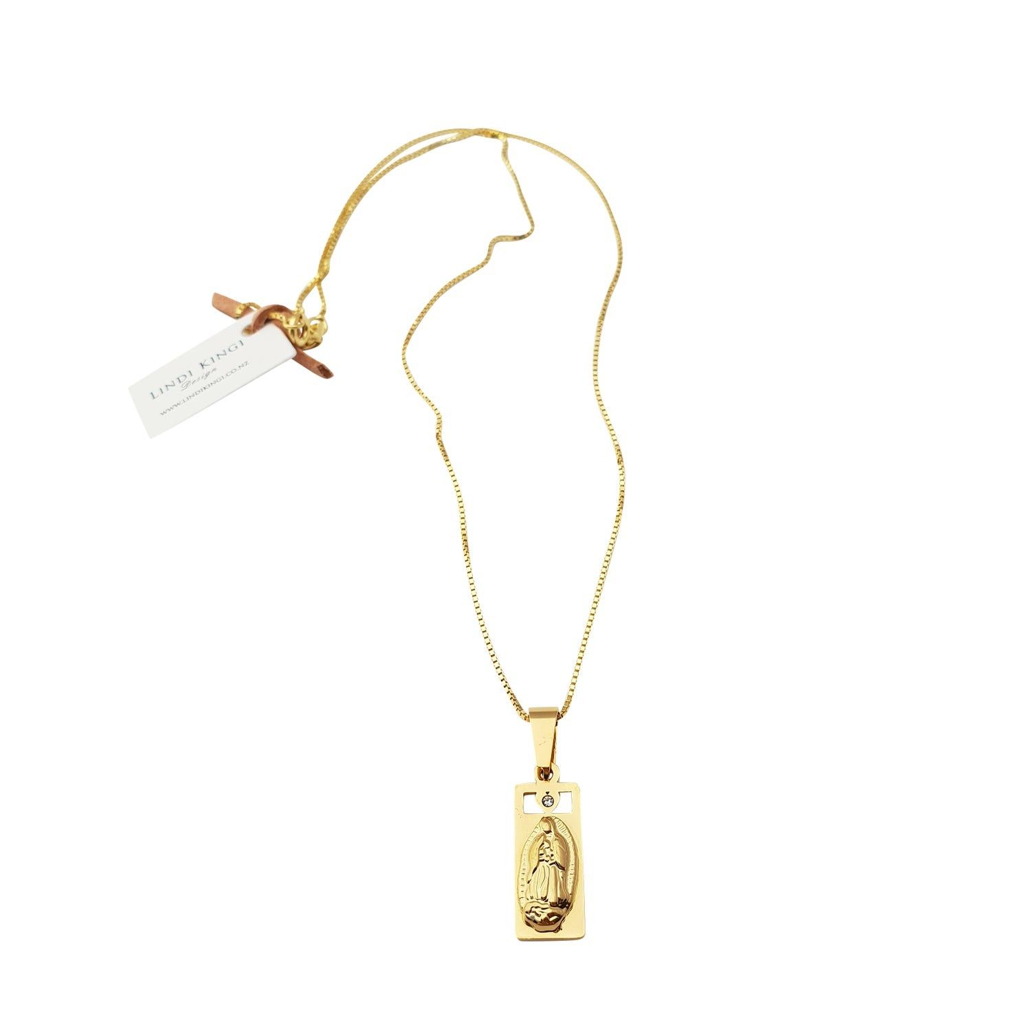 LINDI KINGI  //  Halo Saints Necklace GOLD