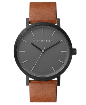 THE HORSE  //  Original MATTE BLACK - BLACK/TAN