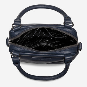 STATUS ANXIETY  //  Last Mountains Bag NAVY BLUE