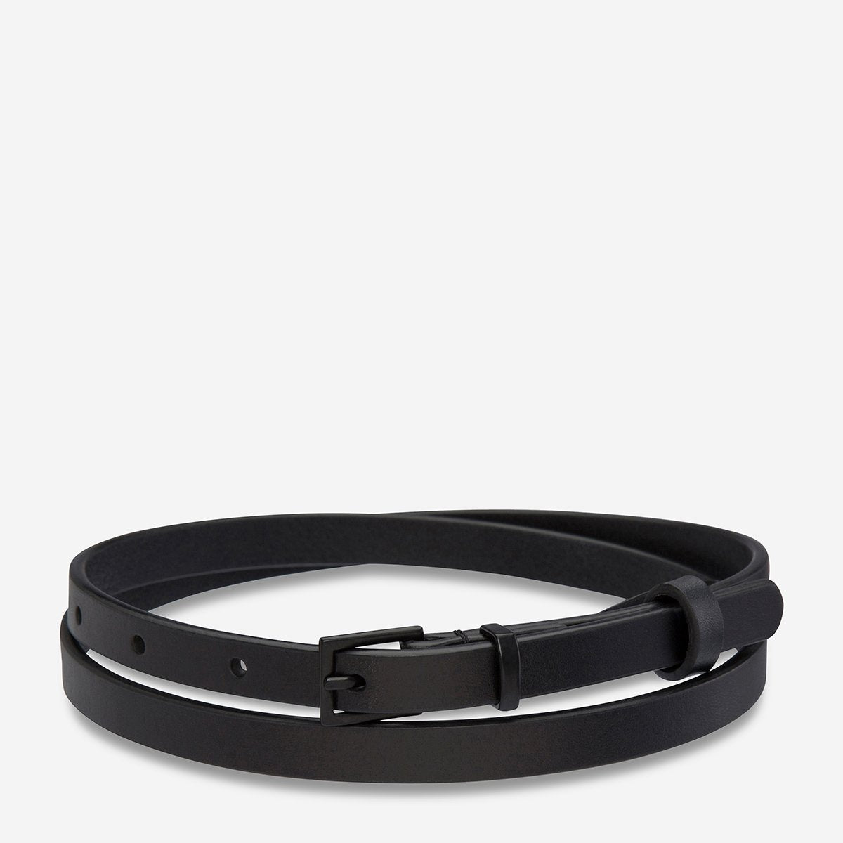 STATUS ANXIETY  //  One Little Victory Belt BLACK