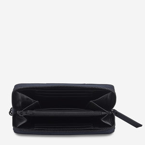 STATUS ANXIETY  //  Moving On Wallet NAVY BLUE