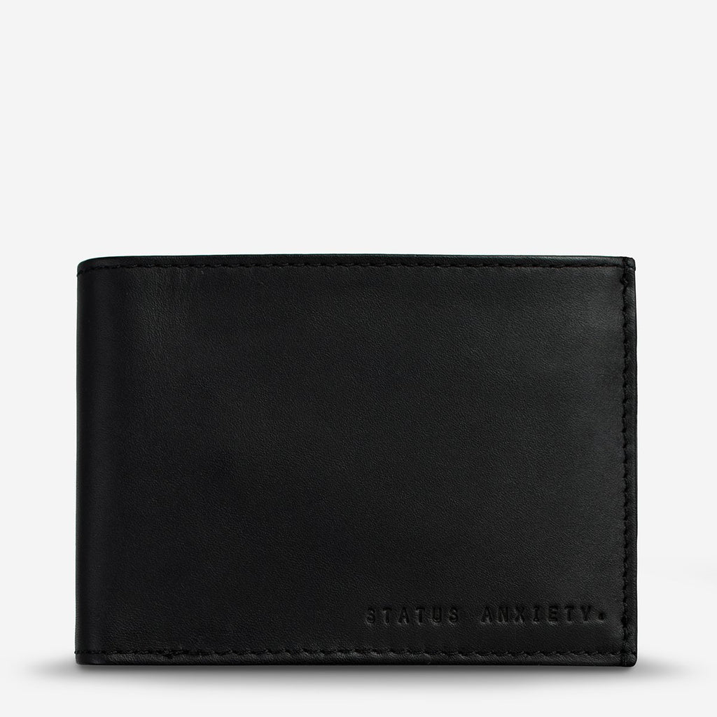 STATUS ANXIETY  //  Noah Wallet BLACK