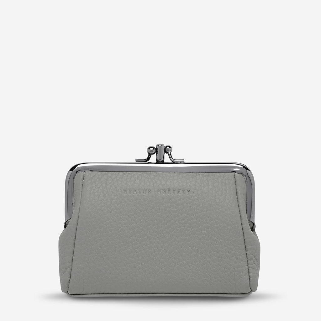 STATUS ANXIETY  //  Volatile Purse LIGHT GREY