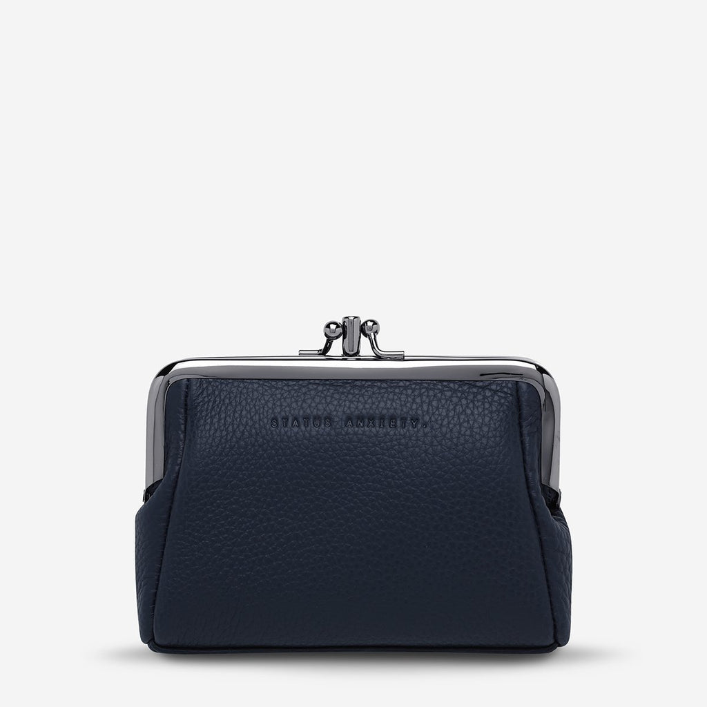 STATUS ANXIETY  //  Volatile Purse NAVY BLUE