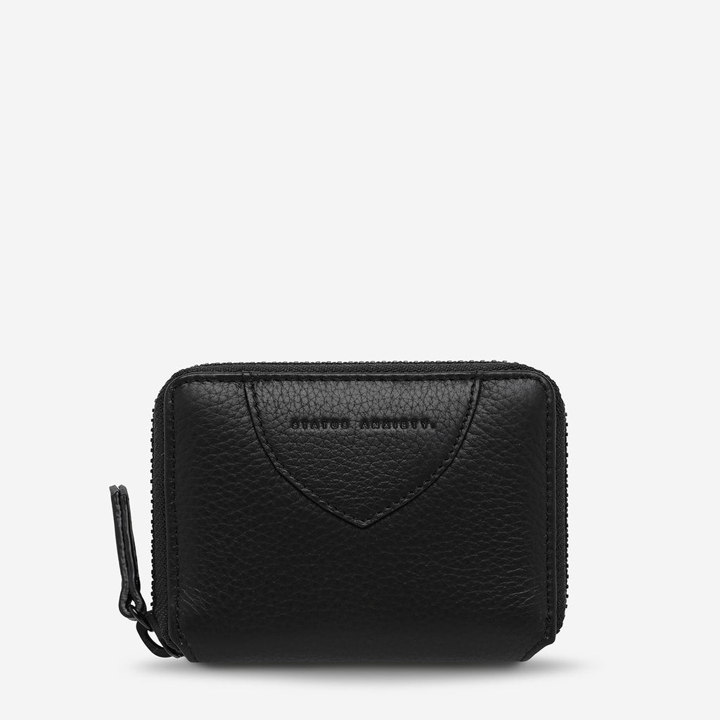 STATUS ANXIETY  //  Wayward Wallet BLACK
