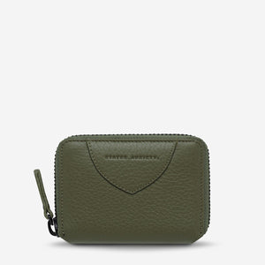 STATUS ANXIETY  //  Wayward Wallet KHAKI