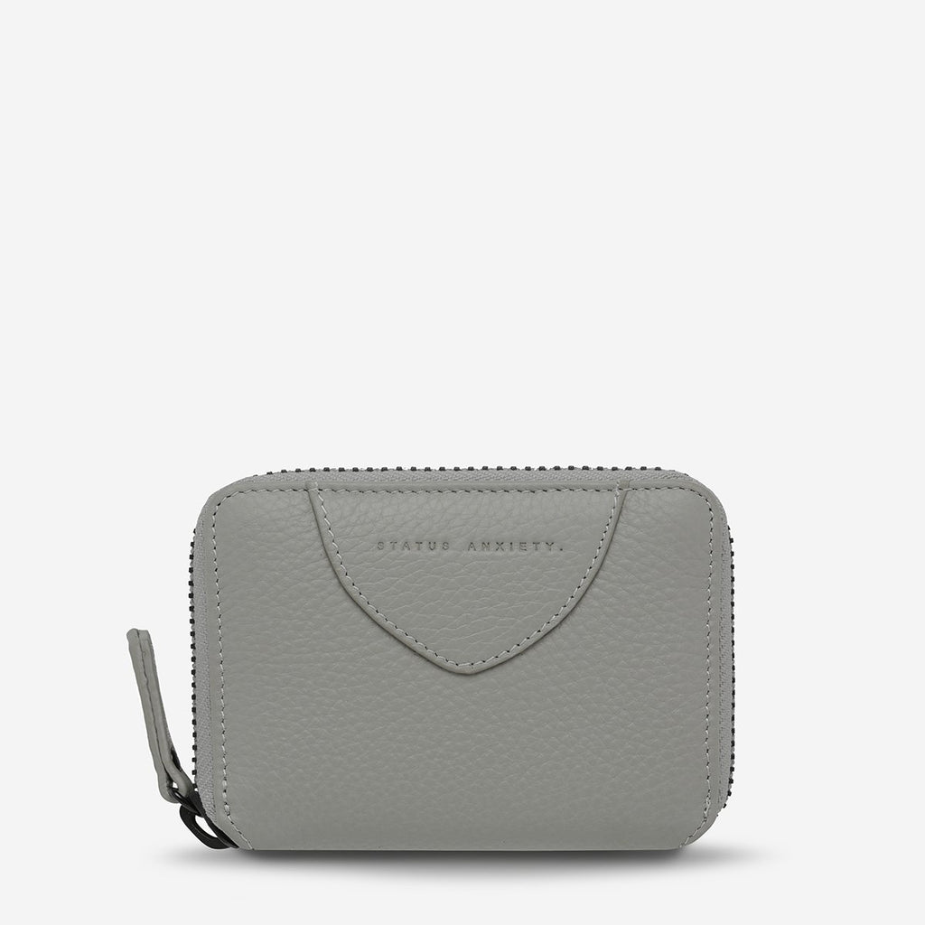STATUS ANXIETY  //  Wayward Wallet LIGHT GREY