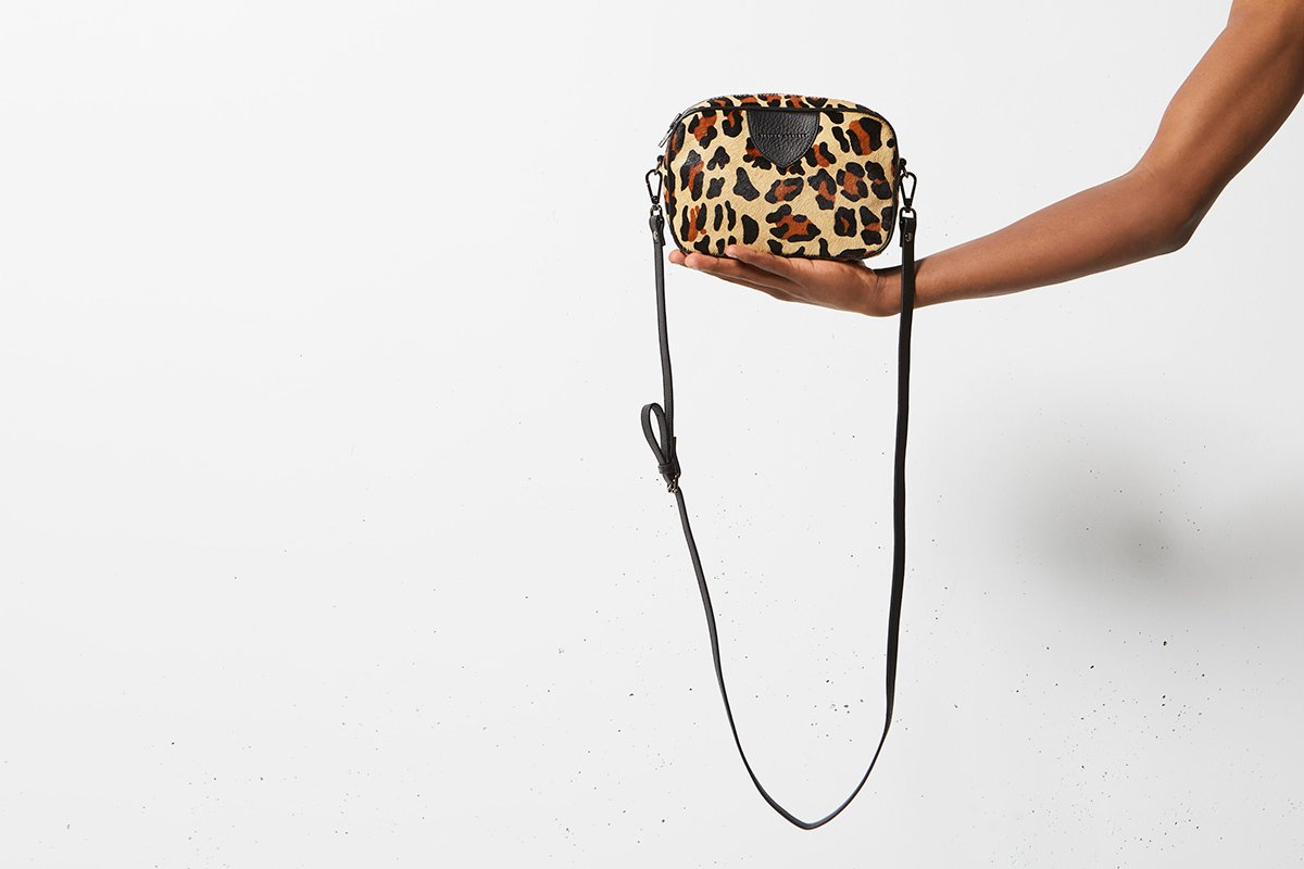 STATUS ANXIETY  //  Plunder Bag LEOPARD