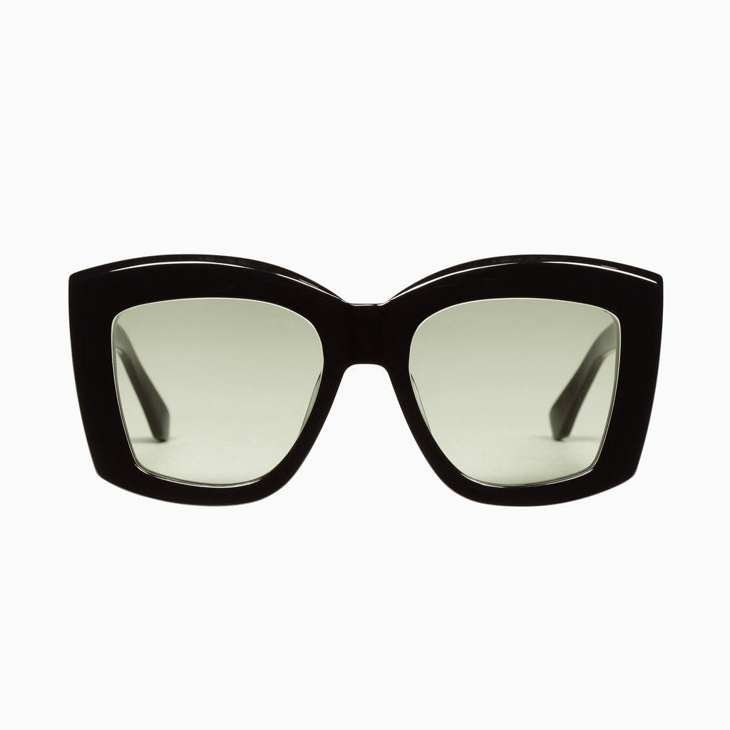VALLEY  //  COLTRANE - GLOSS BLACK/ OLIVE GREEN LENS