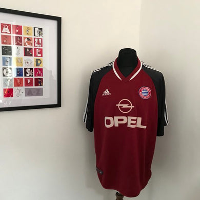 Bayern Munich 2001-2002 Home Shirt