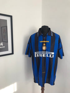 Inter Milan 1996-97 Home Football Shirt
