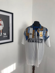 Inter Milan 1995-1996 Away Football Shirt