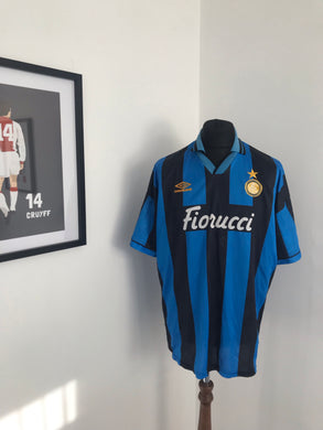 I nter Milan 1994-95 Home Football Shirt