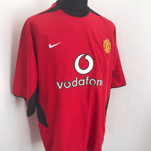Manchester United 2002-2004 Home Shirt