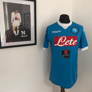 Napoli SSC 2015-2016 Home Shirt