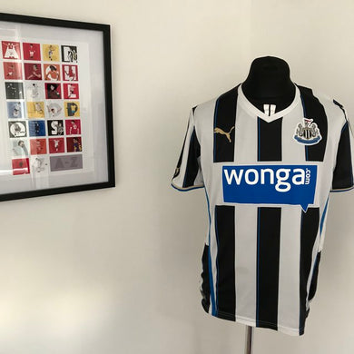 Newcastle United 2013-14 Home Shirt