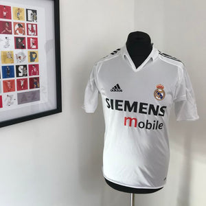 Real Madrid 2004-2005 HomeShirt