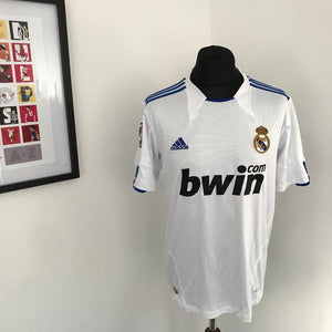 Real Madrid 2010-2011 Home Shirt