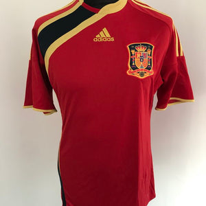 Spain Confederations Cup 2009 Home Shirt