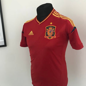 Spain Euro 2012 football shirt/soccer jersey
