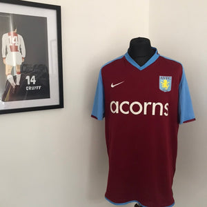 Aston Villa 2008-2009 Home shirt