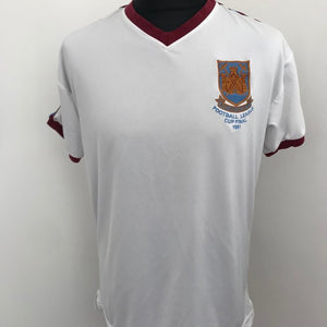 West Ham United 1981 Home Shirt