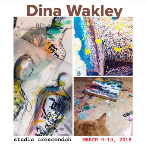 Dina Wakley :: Explosion of Color & Form :: March 9-10, 2019
