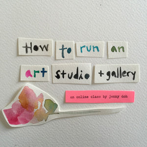 How to run an art studio and gallery