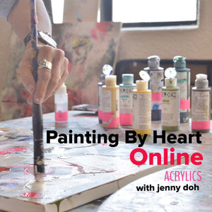 Painting By Heart Online :: Acrylics with Jenny Doh