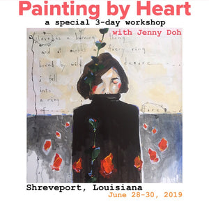 Painting by Heart in Shreveport Louisiana