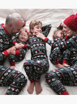 Santa's Hat Christmas Holiday Family Sleepwear