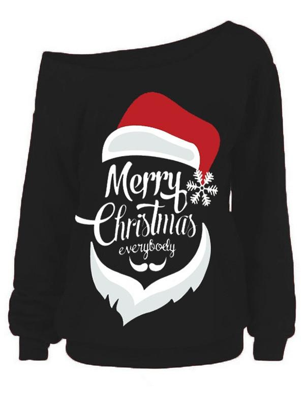 Merry Christmas Everybody Santa Sweatshirt