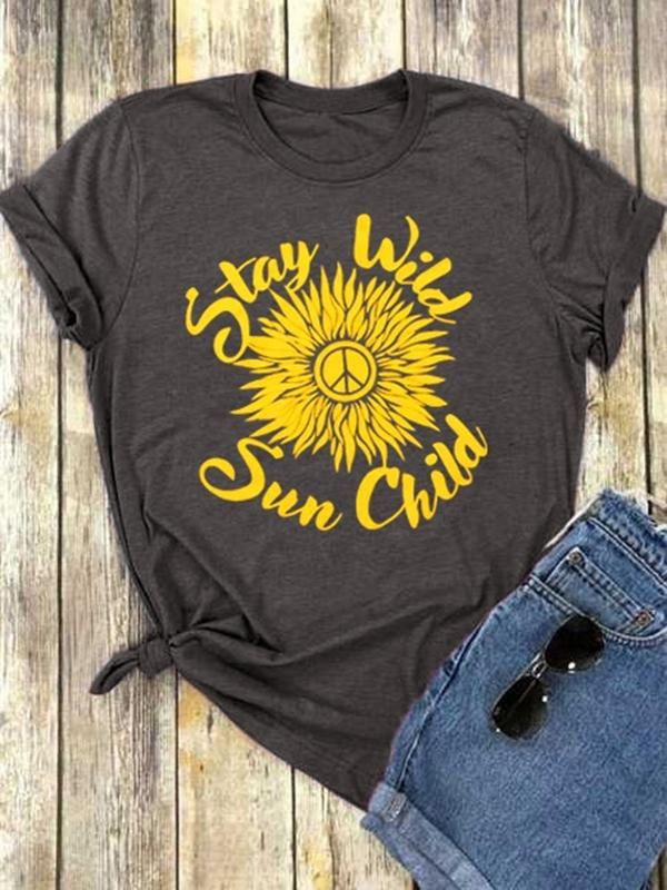 Stay Wild Sun Child T-Shirt