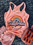 Surfing Always In California Tank-Tanks-Fechicin.com