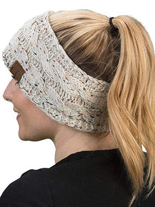 Headband Knitted Crochet Hat
