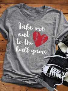 Take Me Out To The Ball Game T-Shirt-T-shirts-Fechicin.com