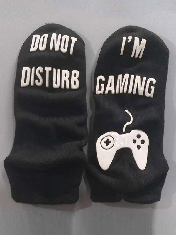 I'm Playing  Gaming Socks
