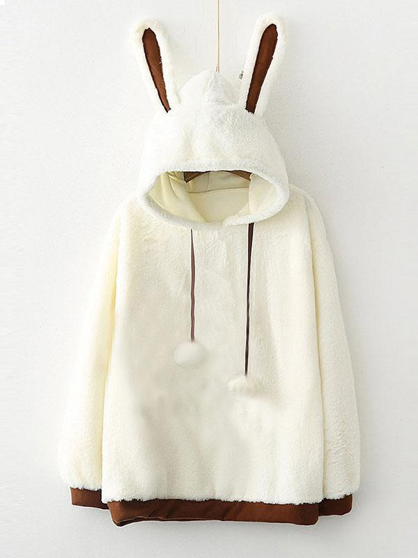 Rabbit Ears Hooded Hoodies