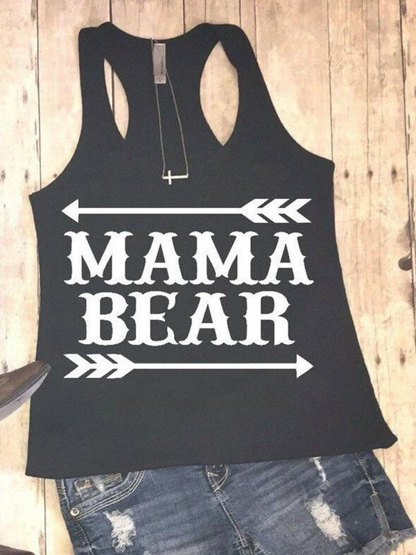 Mama Bear Arrow Tank-Tanks-Fechicin.com
