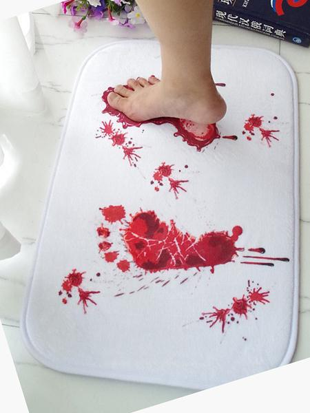 Halloween Blood Foots Carpet