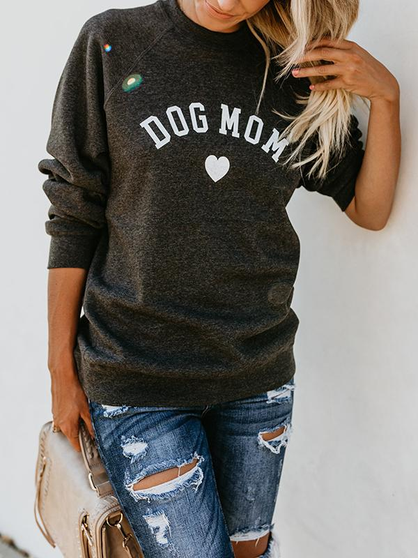 Mom Letter Love Sweatshirt