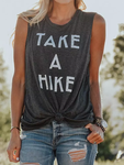 Take a Hike Letter Tanks