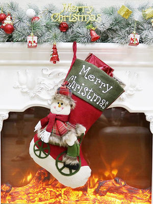 Classical Christmas Decorations Stockings Toys Candy Gift Bag