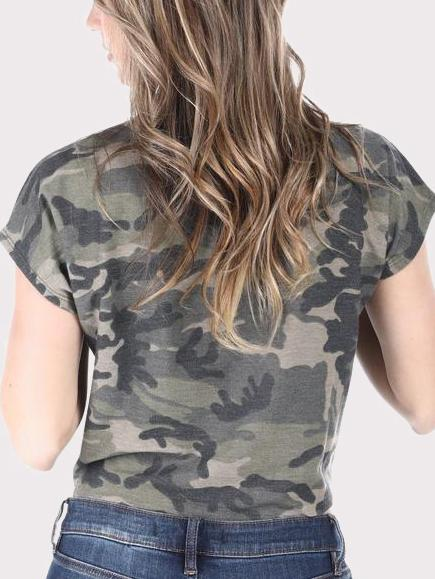 Nothing But Trouble Camouflage T-shirt