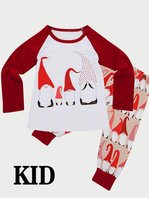 Snowman Christmas Holiday Family Sleepwear
